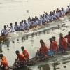 ঐতিহ্যবাহী চুনা নদীর নৌকা বাইচ