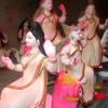 বিদ্যার দেবী সরস্বতী পূজায় মানিকগঞ্জে উৎসবের আমেজ
