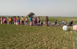 শ্মাশানের জায়গা পেল হিন্দু সম্প্রদায়ের পরিবার