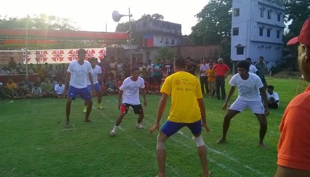 তানোরে ঐতিহ্যবাহী কাবাডি খেলা অনুষ্ঠিত