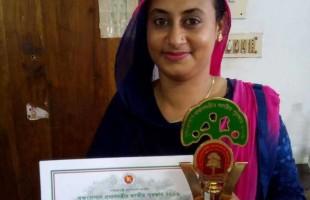 ছাদবাগান প্রেমী সেই দম্পতি পেলেন জাতীয় পুরস্কার