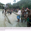 বন্যা আর ভাঙনে দিশেহারা মানিকগঞ্জের অর্ধলক্ষ মানুষ