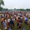 তানোরে গ্রামবাংলার ঐতিহ্যবাহী লাঠি খেলা