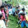 চরাঞ্চলে খেজুর গাছ বৃদ্ধিতে শিক্ষার্থীরা বপন করলো খেজুর বীজ