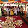 দর্শনার্থীদের নজর কারছে 'কৃষি মানচিত্র'