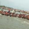 কামারিয়া বিলে গ্রাম বাংলার ঐহিত্যবাহী নৌকা বাইচ প্রতিযোগিতা অনুষ্ঠিত