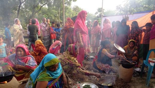 গোদাগাড়ীতে অচাষকৃত উদ্ভিদের পাড়া মেলা ও রান্না প্রতিযোগিতা অনুষ্ঠিত