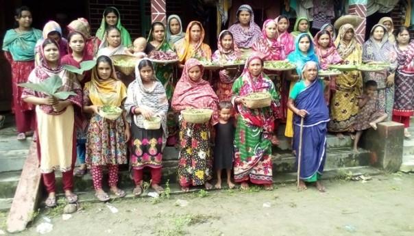 পরিবারের সদস্যদের নিরাপদ খাদ্য ও স্বাস্থ্যসেবা নিশ্চিত করেন গ্রামীণ নারীরাই
