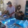 স্ক্রিন প্রিন্টের কাজ করে স্বাবলম্বী আব্দুল আলীম