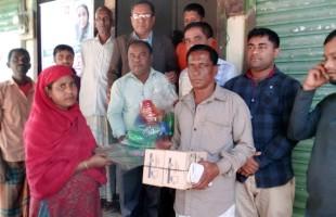 প্রাকৃতিক উপাদানে চা তৈরির সহযোগিতা পেল রুপা আক্তার
