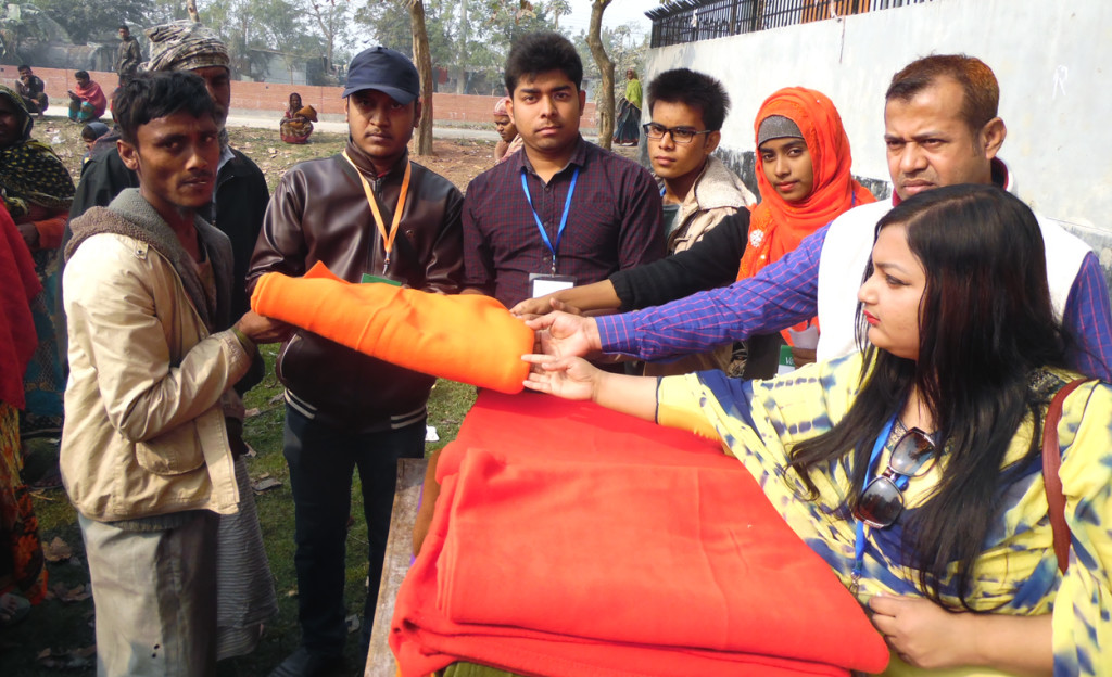 Warm Cloth Distribution By YASC-11.01 (2)