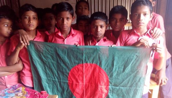 কলমাকান্দায় জাতীয় পতাকা দিবস পালিত