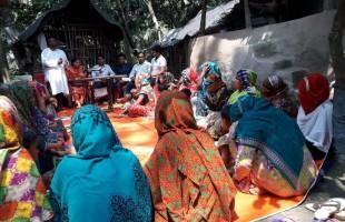 দর্জিপাড়া তৈরির আর্জি  জানালেন নারীরা