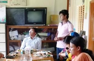 নেত্রকোনা জেলা প্রশাসক বারসিক'র কার্যক্রম পরিদর্শন